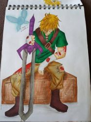Beat Up Link by Feynix