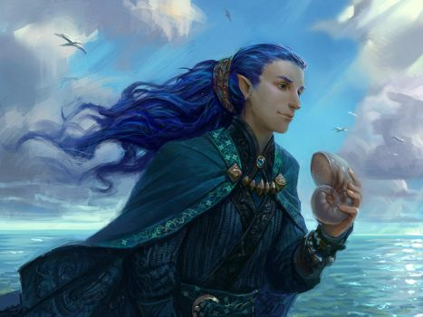 Master of the Shallow sea by gugu-troll