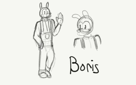 Boris au design  by TheOptimisticalEmo