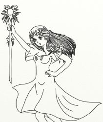 Ruler Lineart by blakserenity