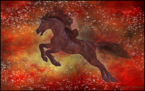 Rider of the Red Horse by jbjdesigns