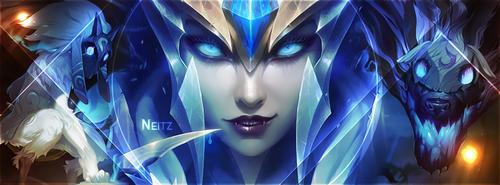 League of Legends Facebook cover photo by Iskierka0