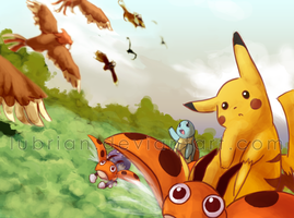Pikachu's Rescue Adventure by Lubrian