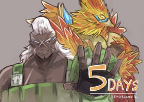 Xenoblade Chronicles 2 - Countdown - 5 days by Shadow2810