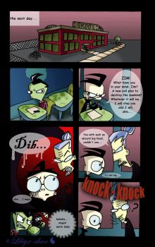 Invader Zim - FanComic pg. 2 by Lileyx
