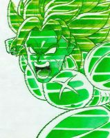 Broly green by Neji-fate