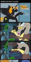 More Fun with Villains by ShadoWolfozo