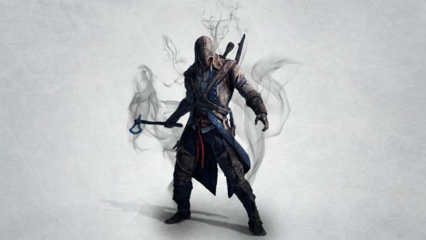 Assassins Creed 3 Connor Ice Wallpaper by H-Thomson
