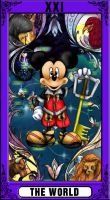 KH Tarot: The World by way2thedawn
