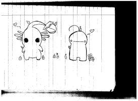 Pikmin and cry by LittleBadKitty123