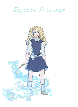 Expecto Patronum : Luna by PixieBrush