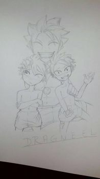dragneel family!  by Jellyfish12345