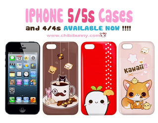 Cute Iphone 5/5s 4/4s cases by tho-be