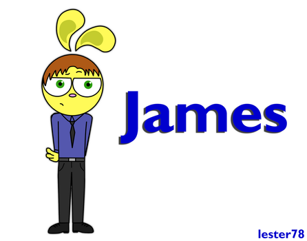 NEW OC! James by lester78