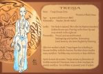 Steps : Characters sheet : Tresja by K-naille