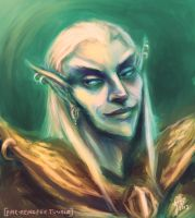 Junior Counselor Vivec by Velothii