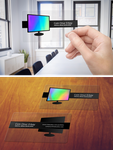Holographic Transparent Business Card by lordcemonur