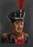 Napoleonic soldier by MiekeYperman