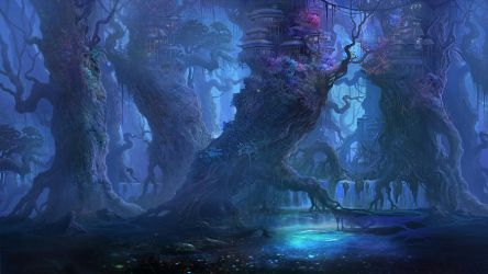 Blue forest by gypcg