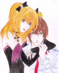 Misa-Misa and Light in color by Zumay-Is-Love