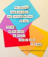 The Daily Magnet #204 by FridgePoetProject