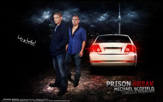 Wentworth Miller and Purcell by belief2