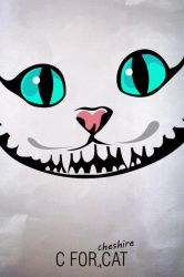 C for Cheshire Cat by anveshdunna