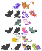 Breeding Batch With Smelly-Mouse(*3 Left*) by xavs-pixels