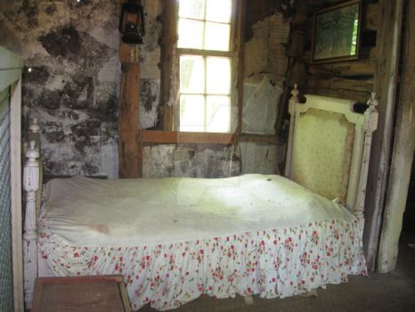 Old Pioneer Bedroom by celticstrm-stock by CelticStrm-Stock
