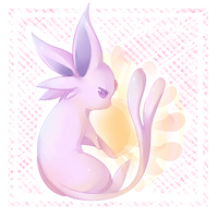 .espeon by Effier-sxy