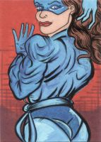 Shadowcat sketchcard by The-Standard