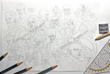 MCU Phase 2 villains WIP1 by Quelchii