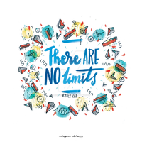 There Are No Limits by eugeniaclara