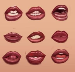 Goldy Lips by Redrobot3D