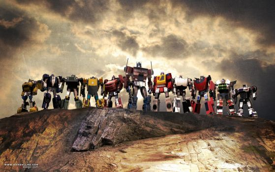 Autobots Roll Out by Vostalgic