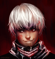 more kaneki by mi-lann