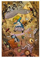 Alice in wonderland by travisJhanson