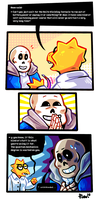 Undertale ask blog: W A S T E D by neonUFO