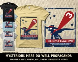Mysterious Mare Do Well Propaganda by digitalfragrance