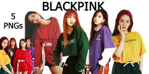 BLACKPINK PNG Pack {NYLON X SHEL'TTER 2017} HD by soshistars