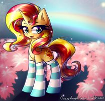 Sunset Shimmer by ChaosAngelDesu