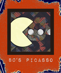 80s Picasso [version one] by Michael-Vens