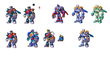 Duo Armors Sprites in 32-bit (INCOMPLETED) by kensuyjin33