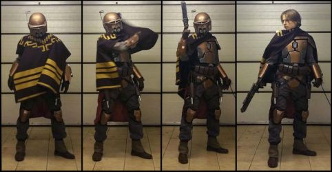 Mandalorian outcast - alternative Hunter set by AraxussYexyr