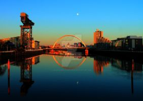 Clydeside Reflections by Crannogphotographic