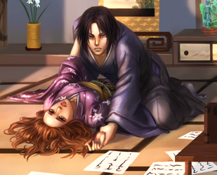 Commission : Fuu and Toshizou by ForeverMedhok