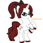 My Little Pony Vector Commission For ME! by JuliefooDesigns