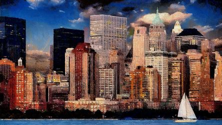 New York Cityscape by montag451