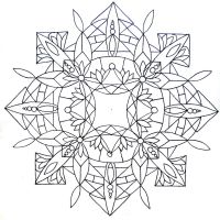 Mandala pattern 02 by Tiger-tyger