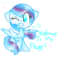 Welcome To My Page! by SnowflakeWonder